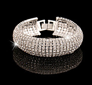 YUAN Fashion Casual High Quality Rhinestone Bracelet Christmas Gifts