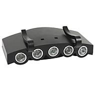 Lanternas de Cabeça Farol Dianteiro LED 1000 lm 4.0 Modo para Campismo / Escursão / Espeleologismo Ciclismo Caça Viajar Condução