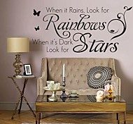 cheap -Words & Quotes Wall Stickers Plane Wall Stickers Decorative Wall Stickers, PVC Home Decoration Wall Decal Wall