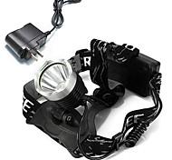 Linternas de Cabeza Faro Delantero LED 1600 lm Modo Cree XM-L T6 Cree T6 Cree con cargador Recargable Camping/Senderismo/Cuevas Ciclismo