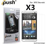высокая прозрачность матовый экран ЖК-протектор для HTC One Mini (3 шт)