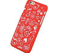 Für iPhone 6 Hülle / iPhone 6 Plus Hülle Muster Hülle Rückseitenabdeckung Hülle Kacheln Hart PC iPhone 6s Plus/6 Plus / iPhone 6s/6