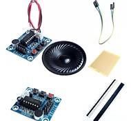 Недорогие -isd1820 аудио модуль записи звука ж / микрофон / динамик и аксессуары для Arduino