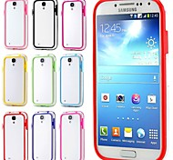 BIG D Transparent Fashion Bumper for Samsung Galaxy S4 I9500
