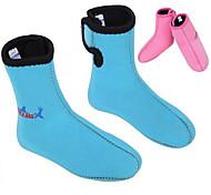 Недорогие -divesail 3мм неопрена Дети зимой плавать подводное плавание дайвинг носки сапоги гидрокостюм потепления нескользящей обуви для детей