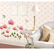 Lotus Pond Setting Wall Stickers