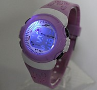 cheap -Kid's Digital Watch / Fashion Watch Japanese Casual Watch Silicone Band Cool Purple