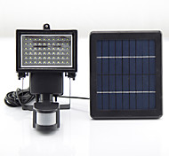 Y-SOLAR 60 LEDs Solar Powered LED Emergency Rechargeable Lights LED Light Camping PIR Sensor Outdoor Solar Lamps SL1-17