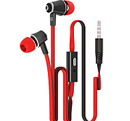 cheap -In Ear Wired Headphones Plastic Mobile Phone Earphone with Microphone Headset