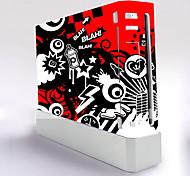 b-piel® consola wii cubierta protectora pegatina adhesivo controlador de la piel