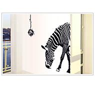 мода окружающей среды съемный зебра ПВХ стикер стены