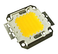 cheap -JIAWEN® 50W 4000-4500LM 3000K Warm White LED Chip (DC 30-33V)