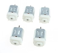 cheap -130 Miniature DC Motors Small Motor Small Four-Wheel Motor (5PCS)