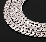 cheap -Men's Women's Rose Gold Platinum Plated Gold Plated Alloy Choker Necklace Chain Necklace Vintage Necklace - Rose Gold Platinum Plated