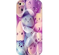 Smiley Face Pattern Back Case for iPhone5/5S