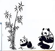 Недорогие -экологические съемные Panda шаблон теги пвх&наклейка