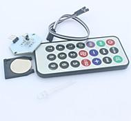 Модуль ИК-приемник беспроводной пульт дистанционного управления для Arduino (1 х CR2025)