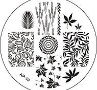 Nail Art Stamp Stamping Image Template Plate AP Series NO.19