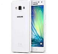 Teléfono Móvil Samsung - Cobertor Posterior - Color Sólido - para Samsung Galaxia A5 (Blanco , TPU)