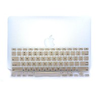 Gold-Plastic Ultra Thin Soft Keyboard Protector Cover Skin for MacBook Pro 13.3/15.4""