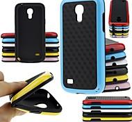 большой d двойной цвет мода мягкий чехол для Samsung Galaxy S4 мини-i9190