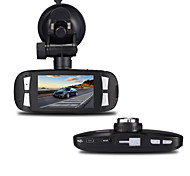 abordables -h200 1080p / Full HD 1920 x 1080 DVR de voiture 120 Degrés Grand angle 5.0 CMOS MP 2.7inch LCD Dash Cam avec G-Sensor 1 LED infrarouge