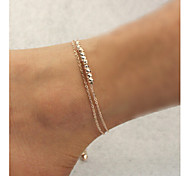 cheap -Anklet - Women's Unique Design Fashion Others Alloy Anklet For Daily Casual