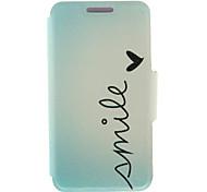 cheap -Case For Sony Xperia Z3 Sony Xperia M4 Aqua Sony Xperia M2 Other Sony Xperia Z3 Sony Case Card Holder Flip Full Body Cases Word / Phrase