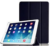 Недорогие -Кейс для Назначение Apple iPad Air со стендом С функцией автовывода из режима сна Оригами Чехол Сплошной цвет Твердый ПК для iPad Air