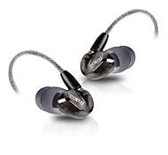 moxpad x6 avec micro casque au cours de sport pour les téléphones écouteurs intra-auriculaires à isolation sonore des écouteurs pour