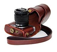 мешок случая съемная крышка камеры dengpin® Пу кожа масло кожа для Fujifilm X-A2 х a1 х m1 (ассорти цветов)