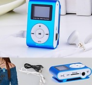 cheap -8G Mp3 Mini Lettore Clip USB LCD Screen Rechargeable Radio Player