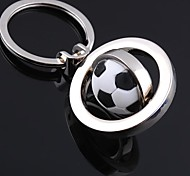 cheap -Unisex Alloy Casual Keychain Fashion Revolve Football Key Chains