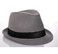 Недорогие -панама шляпа стиль хлопок для мужчин (черный и белый) элегантный стиль