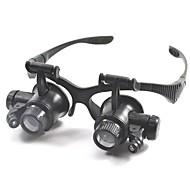 Binoculars Magnifiers/Magnifier Glasses Generic Headset/Eyewear 20x 15mm Plastic