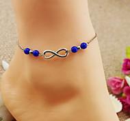 Fashion Blue Yakeli Anklets