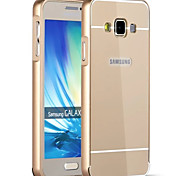 Metal Frame with Plastic Back Cases for Samsung  Galaxy A3/A3000/A3009
