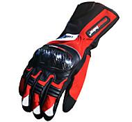 Недорогие -Мотоцикл перчатки Полныйпалец Бамбуковое углеволокно L/XL/XXL Красный/Черный/Синий