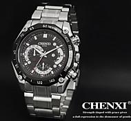 Недорогие -CHENXI® Мужской Нарядные часы Кварцевый Японский кварц Нержавеющая сталь Группа