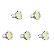 GU10 LED Spotlight MR16 1 COB 450 lm Warm White Cold White Natural White K AC 85-265 V