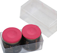 A BOX OF 2 x PIECES OF snooker or billiard Buck  CHALK Cylindrical IN VARIOUS COLOURS