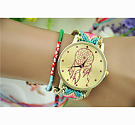 Fashion Women's Dreamcatcher National Weaving South Korea Style Chain DIY Watch Cool Watches Unique Watches