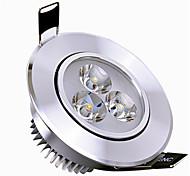подсветка 6 Вт 3 высокой мощности привело 400-450lm 3000-3500k теплый белый / холодный белый dimmable привело downlights переменного тока 110v