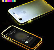 economico -Per Custodia iPhone 6 / Custodia iPhone 6 Plus Con torcia LED / Transparente Custodia Custodia posteriore Custodia Tinta unita Morbido TPU