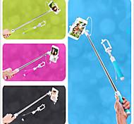 baratos -cabo a pole câmera selfie prorrogável monopé handheld vara com suporte do telefone móvel para iPhone 6 (cores sortidas)