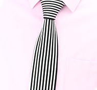 SKTEJOAN®Korean Fashion Simple Straight Stripe Knit Tie(Width:5CM)