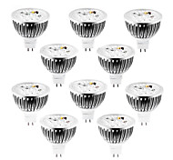 cheap -4W GU5.3(MR16) LED Spotlight MR16 4 leds High Power LED Dimmable Warm White Cold White Natural White 320lm 2800-3000/4000-4500/6000-6500K