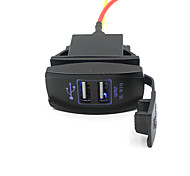 cheap -Car Truck Boat Accessory 12V 24V Dual USB Charger Power Adapter Outlet Nice