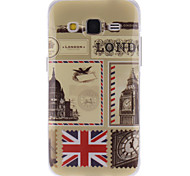 British Style Design TPU Soft Case for Samsung GALAXY CORE Prime G360/G3608