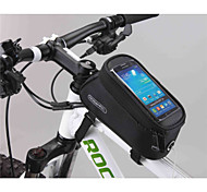 Недорогие -Бардачок на раму Сотовый телефон сумка 5.5 дюймовый Многофункциональный Сенсорный экран Велоспорт для Samsung Galaxy S6 LG G3 Samsung